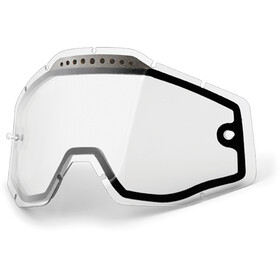 100% Vented Dual Replacement Lenses, dual / clear